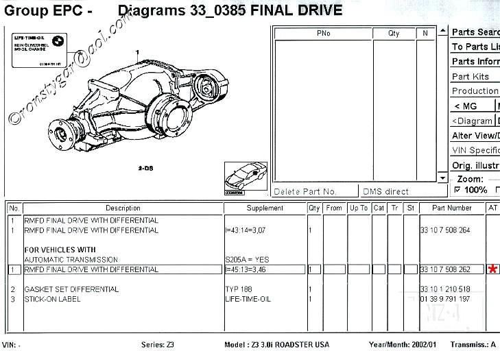 Lets 3 46 Differential My 01 M Z3 Coupe Part 1 Bimmerfest Bmw
