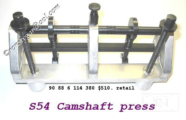 e46 m3 camshaft install