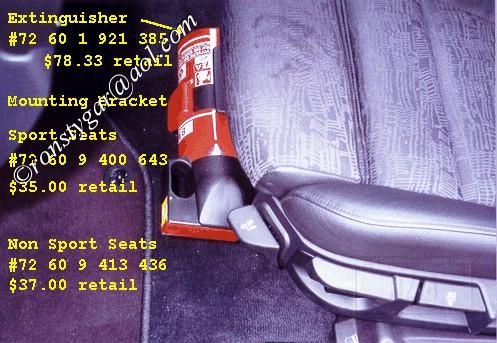 E36 Fire Extinguisher