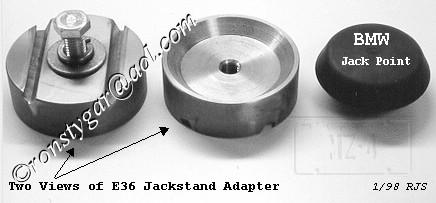 Jackstand Adapter
