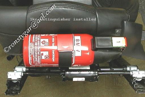 E36 Fire Extinguisher M Coupe
