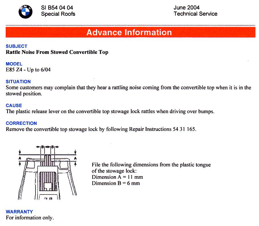 Bimmerfest Bmw Z4 Convertible Top Problem Autos Post
