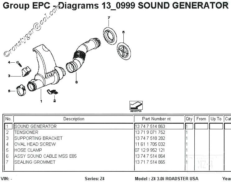 Z4 Sound Generator Aka Engine Subwoofer Bimmerfest