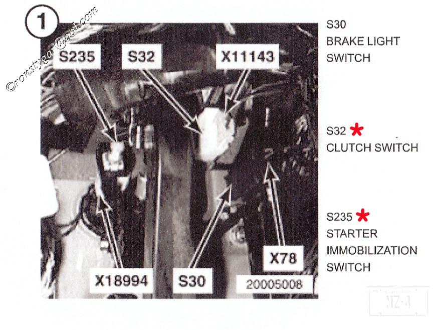 startandclutchsw 96 z3 starts without clutch ignition switch bimmerfest bmw forums bmw e46 clutch switch wiring diagram at bayanpartner.co