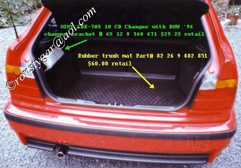 318ti Trunk Mat